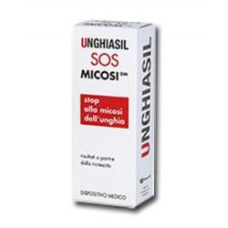 Unghiasil Sos Micosi Antimicotico in flacone di vetro da 5 ml Con Pennello Applicatore + Astuccio