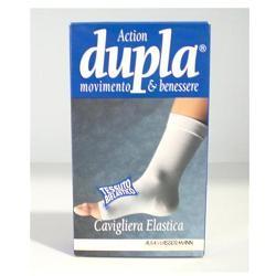 CAVIGLIERA ELASTICA DUPLA BIANCA XL