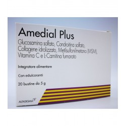 Alfasigma Amedial Plus 20 Bustine 5 g Collagene