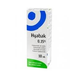 Laboratoires Thea Hyabak 0,15% Soluzione Oftalmica 10 ml