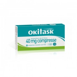Dompe' Okitask 10 Compresse Rivestite 40mg
