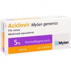 Aciclovir Crema Dermatologica 3 G 5%