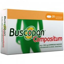 Sanofi Buscopan Compositum Antispastico 20 Compresse Rivestite