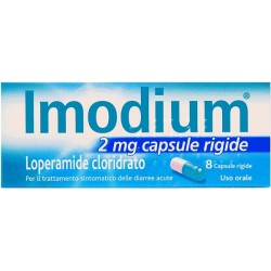 Johnson & Johnson Imodium 8 Capsule 2 Mg