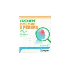 Bgp Products Froben Dolore E Febbre Soluzione Orale Granulari Effervescenti 20 Buste 200 Mg