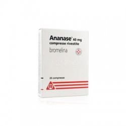 Meda Ananase 20 Compresse Rivestite 40 Mg