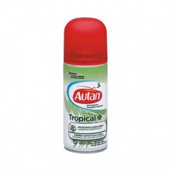 Johnson & Johnson Autan Tropical Spray Secco Antizanzare 100 ml