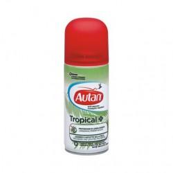Johnson & Johnson Autan Tropical Spray Secco Antizanzare 100 ml