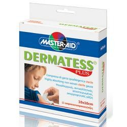 Pietrasanta Pharma Dermatess Plus Garza Sterile 5x9 cm 12 Pezzi