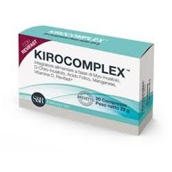 S&R Farmaceutici Kirocomplex 20 Compresse Integratore per Ovaio Policistico