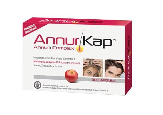 Di-va Annurkap AnnutriComplex Integratore per il rafforzamento dei capelli 30 Capsule