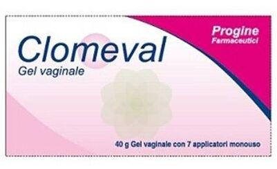 Progine Farmaceutici Clomeval Gel Vaginale 40g