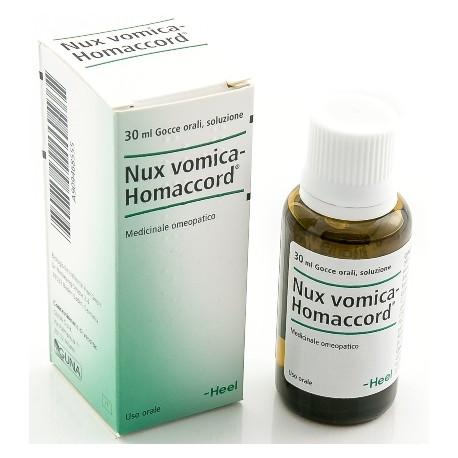 Guna Nux Vomica Homac 30 ml Gocce Heel Digestione