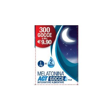 F&f Melatonina Act Gocce 15 ml
