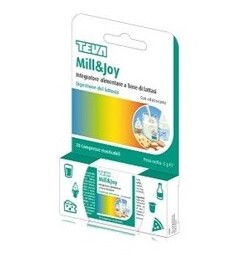 Mill&joy Teva 20 Compresse Masticabili