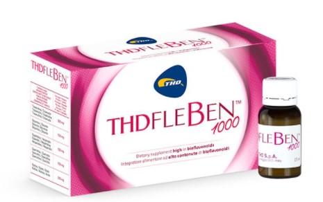 Thd Fleben 1000 Integratore per microcircolo 10 flaconcini